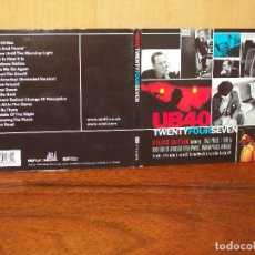 CD de Música: UB40 - TWENTY FOUR SEVEN - CD DIGIPACK DELUXE EDITION CON LIBRETO. Lote 128476647