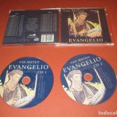 CDs de Música: EVANGELIO ( SAN MATEO ) - 2 CD - EDICIONES LEVANTE. Lote 128478899