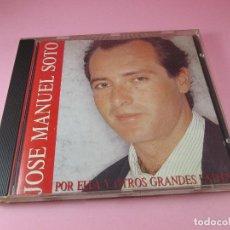 CDs de Música: CD-JOSÉ MANUEL SOTO-POR ELLA Y OTROS GRANDES ÉXITOS-SONY MUSIC-1991-8 TEMAS-VER FOTOS. Lote 128485723