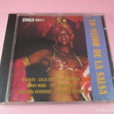 CDs de Música: CD-LO MEJOR DE LA SALSA-DMA-1995-COMO NUEVO-12 TEMAS-VER FOTOGRAFÍAS.. Lote 128490571