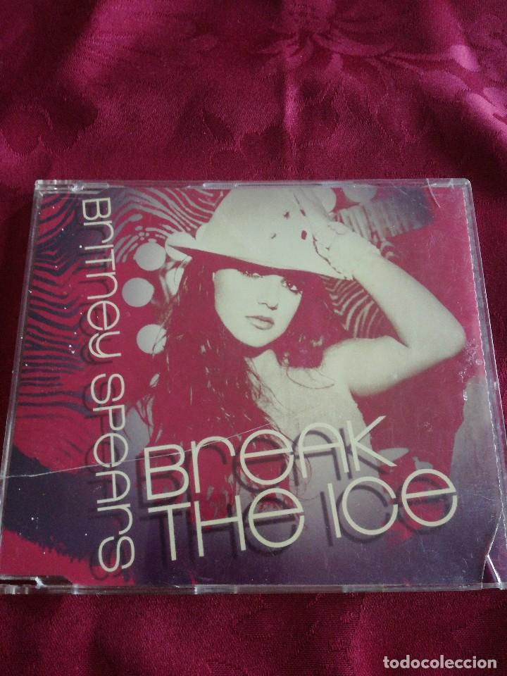 CD SINGLE BRITNEY SPEARS BREAK THE ICE (Música - CD's Pop)