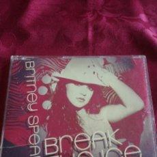 CDs de Música: CD SINGLE BRITNEY SPEARS BREAK THE ICE. Lote 128503391