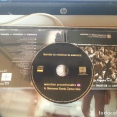 CDs de Música: CD SEMANA SANTA ZAMORA BANDA DE MUSICA, COFRADIA DE JESUS NAZARENO VOLGO CONGREGACION, MADRUGADA . Lote 128514927