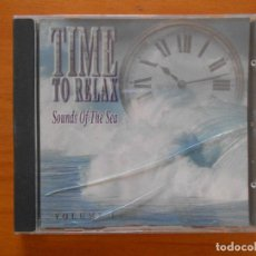 CDs de Música: CD TIME TO RELAX - SOUNDS OF THE SEA - VOLUME 1 (CT). Lote 128529543