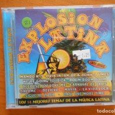 CDs de Música: CD EXPLOSION LATINA (CT). Lote 128529891