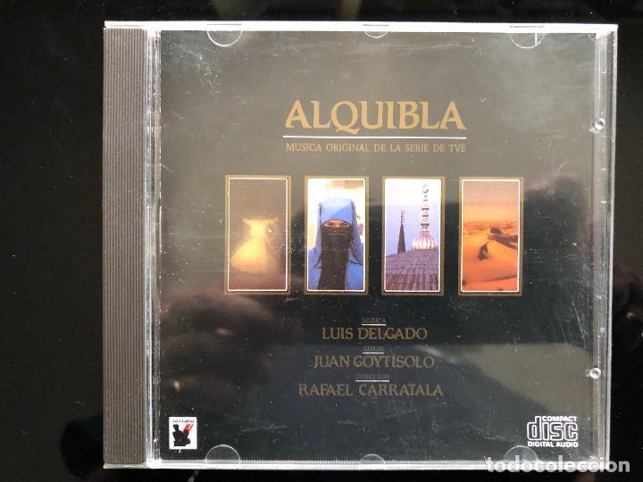 ALQUIBLA LUIS DELGADO CD (Música - CD's New age)