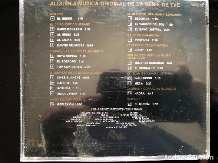 CDs de Música: Alquibla Luis Delgado cd - Foto 2 - 128530827