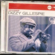 CDs de Música: DIZZY GILLESPIE LIVE IN BERLIN CD. Lote 128533927