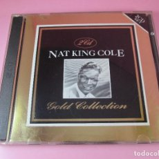 CDs de Música: CD-DOBLE-NAT KING COLE-GOLD COLLECTION-1992-DEJA2-SUISA-COMO NUEVO-VER FOTOGRAFÍAS. Lote 128541235