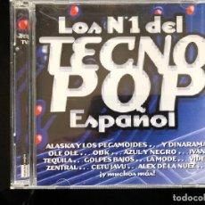 CDs de Música: LOS Nº 1 DEL TECNO POP ESPAÑOL 2 CD. Lote 128546087