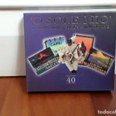 CDs de Música: O SOLÉ MÍO.ITALIAN ARIAS, SONGS &MANDOLINS.THE GOLD COLLECTION. 40 CANCIONES.DOBLE CD. Lote 128548823