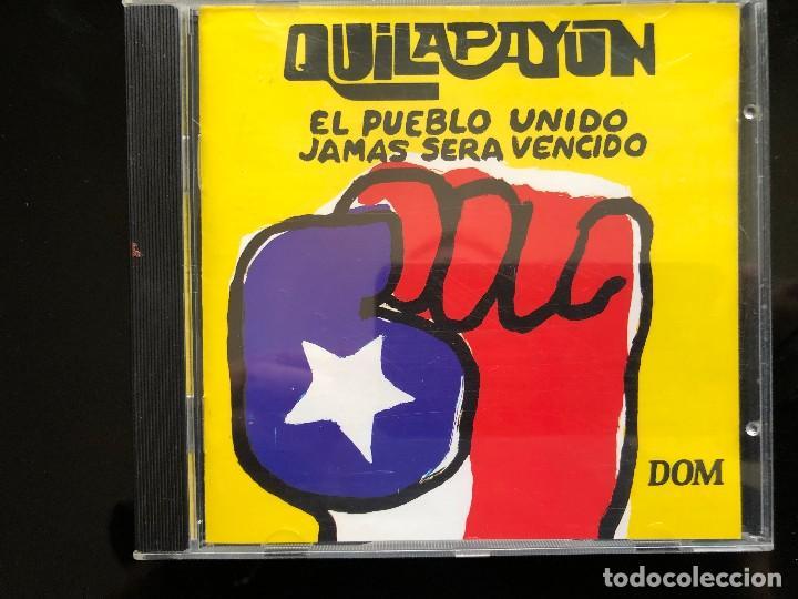 QUILAPAYUN EL PUEBLO UNIDO JAMAS SERA VENCIDO CD (Música - CD's Latina)