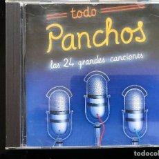 CDs de Música: TODO PANCHOS LAS 24 GRANDES CANCIONES CD. Lote 128550107