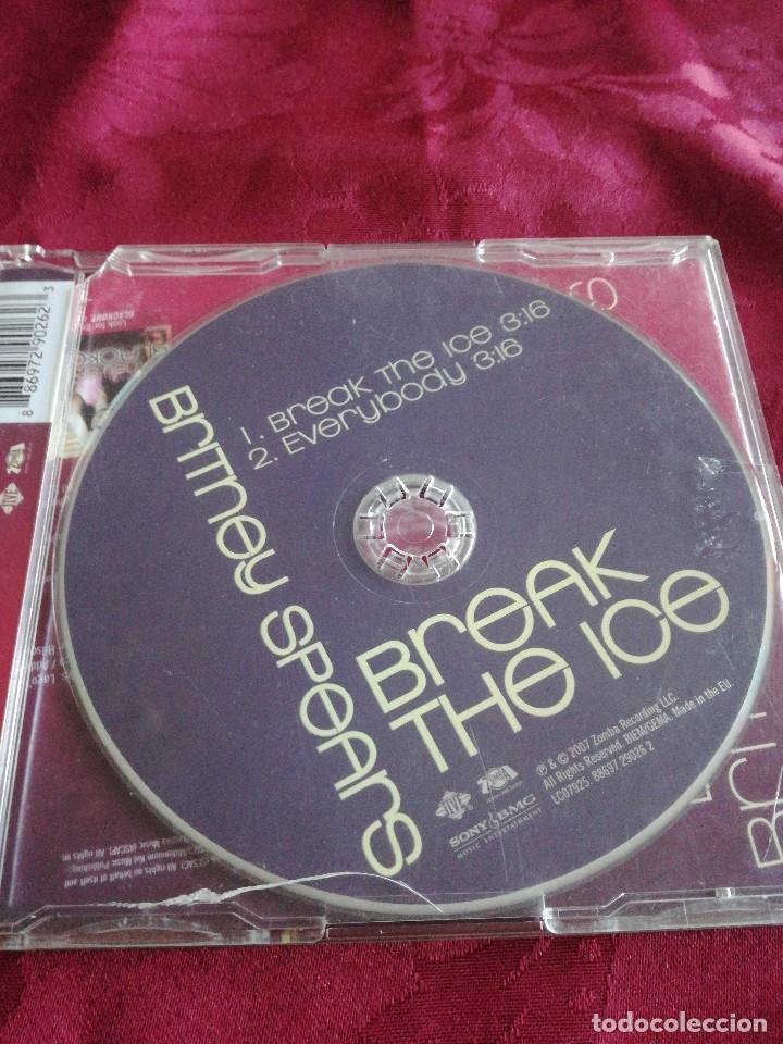 CDs de Música: Cd single BRITNEY SPEARS BREAK THE ICE - Foto 2 - 128503391