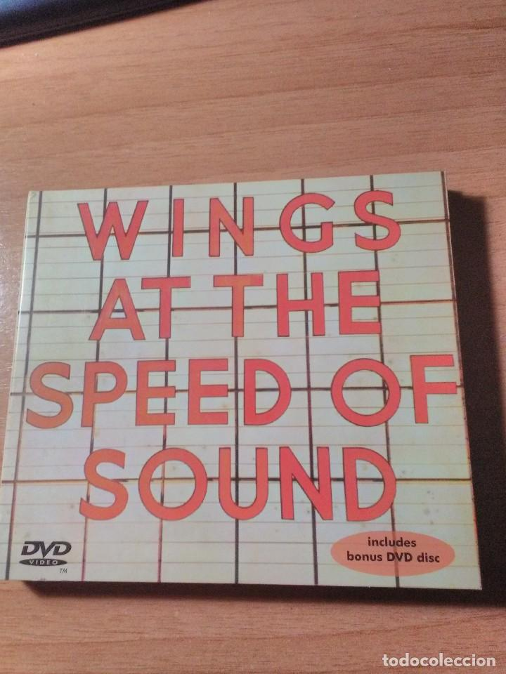 WINGS AT THE SPEED OF SOUND PAUL MCCARTNEY CD + DVD (Música - CD's Pop)