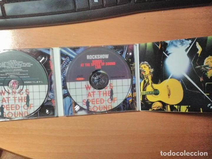 CDs de Música: WINGS AT THE SPEED OF SOUND Paul McCartney CD + DVD - Foto 2 - 128564555