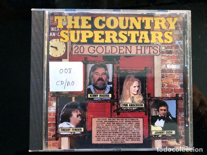THE COUNTRY SUPERSTARS 20 GOLDEN HITS (Música - CD's Country y Folk)