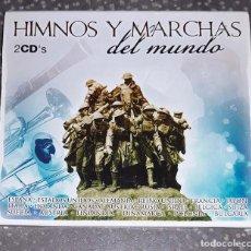 CDs de Música: DOBLE CD EN EXCELENTE ESTADO HIMNOS Y MARCHAS DEL MUNDO GRAN CALIDAD ESPAÑA Y OTROS PAISES. Lote 128571271