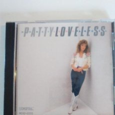 CDs de Música: PATTY LOVELESS HONKY TONK ANGEL ( 1988 MCA USA ) COUNTRY ROCK RODNEY CROWELL VINCE GILL. Lote 128585079