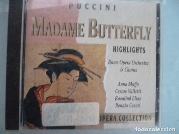 PUCCINI - MADAME BUTTERFLY (CD 1992, THE GRAND OPERA COLLECTION, SYMPHONY (Música - CD's Clásica, Ópera, Zarzuela y Marchas)