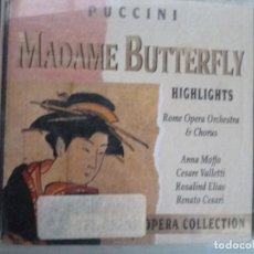CDs de Música: PUCCINI - MADAME BUTTERFLY (CD 1992, THE GRAND OPERA COLLECTION, SYMPHONY. Lote 128587667