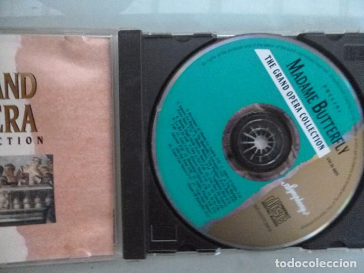 CDs de Música: PUCCINI - Madame Butterfly (CD 1992, The Grand Opera Collection, Symphony - Foto 2 - 128587667