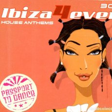 CDs de Música: VESIV CD IBIZA HOUSE ANTHEMS 4 EVER 3 CDS . Lote 128591443