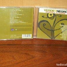 CDs de Música: VERDE Y NEGRO - MI MUSICA, TU SANGRE - CD ARTISTAS VARIOS . Lote 128628243