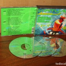 CDs de Música: VIRTUAL DANCE - TRIPLE CD ARTISTAS VARIOS . Lote 128630883