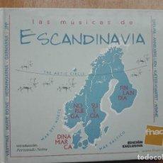 CDs de Música: LIBRO CD LAS MUSICAS DE ESCANDINAVIA.(FNAC 2002). Lote 128651735
