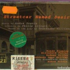 CDs de Música: A STREETCAR NAMED DESIRE - ANDRÉ PREVIN - LIVE RECORDING - 3XCDS + LIBRETO. Lote 49097821