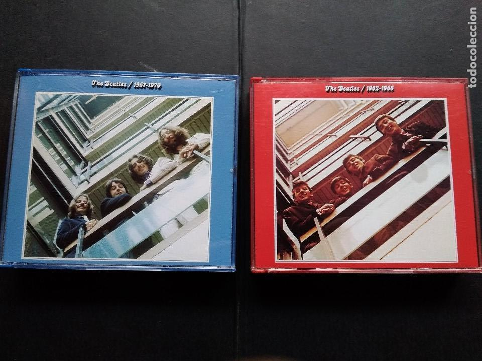 THE BEATLES ALBUM ROJO Y AZUL RED BLUE 1962 1966 1967 1970 DOBLES COMPLETOS (Música - CD's Pop)
