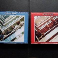 CDs de Música: THE BEATLES ALBUM ROJO Y AZUL RED BLUE 1962 1966 1967 1970 DOBLES COMPLETOS. Lote 128660371
