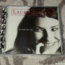 CDs de Música: LAURA PAUSINI - LE COSE CHE VIVI. Lote 128661220