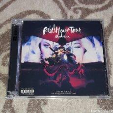 CDs de Música: MADONNA - REBEL HEART TOUR LIVE IN TOKYO - 2CDS. Lote 128664760
