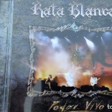 CDs de Música: RATA BLANCA PODER VIVO CD. Lote 128665715