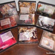 CDs de Música: HISTORIA DE LA MUSICA CATALANA VALENCIANA I BALEAR - 9 CAJAS / 36 CDS - EDICIONES 62. Lote 128666611