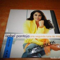 CDs de Música: ISABEL PANTOJA UNA SEGUNDA LUNA DE MIEL CD SINGLE PROMOCIONAL CARTON 2004 JOSE FELICIANO 1 TEMA. Lote 128666722
