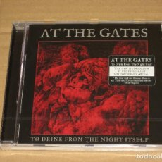 CDs de Música: (SIN ABRIR) AT THE GATES - TO DRINK FROM THE NIGHT ITSELF. Lote 128676315
