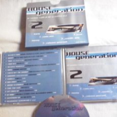 CDs de Música: MUSICA CD: HOUSE GENERATION 2.0 - CD + CAJA CARTON (ABLN). Lote 128676611