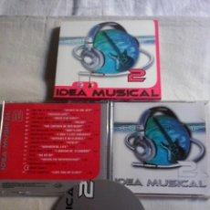 CDs de Música: MUSICA CD: IDEA MUSICAL 2 -GENERATION 101 - CD + CAJA CARTON (ABLN). Lote 128676707