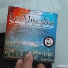 CDs de Música: LOS MISERABLES - LES MISERABLES 2 CDS+LIBRETO CON FOTOS ETC - DOBLE CD ALBUM -. Lote 128677507