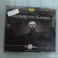 CDs de Música: HERBERT VON KARAJAN 4 CD GOLD EDITION FALTA UNO. Lote 128677675