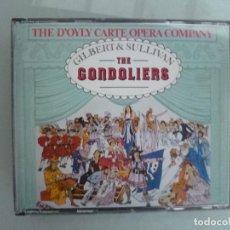 CDs de Música: GILBERT AND SULLIVAN - THE GONDOLIERS - 2 CD THE D'OYLY CARTE OPERA COMPANY. Lote 128677991