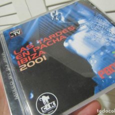 CDs de Música: LAS TARDES EN PACHÁ IBIZA 2001-2CDS. Lote 128678779