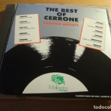 CDs de Música: RAR CD. THE BEST OF CERRONE. MONDO DISCO. 11 TRACKS. MADE IN USA. Lote 128680123