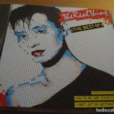 CDs de Música: RAR CD. THE REAL THING. THE BEST. 12 TRACKS. Lote 128680147