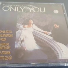 CDs de Música: MUSIC FROM THE MOTION PICTURE ONLY YOU CD 16 TEMAS. VARIOS INTÉRPRETES. Lote 128687663
