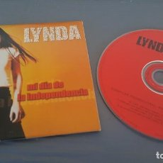 CDs de Música: LYNDA CD SINGLE CARTON MI DÍA DE LA INDEPENDENCIA (UN TEMA). Lote 128688747
