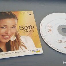 CDs de Música: BETH CD SINGLE CARTÓN DIME (FESTIVAL EUROVISIÓN 2003). Lote 128689427